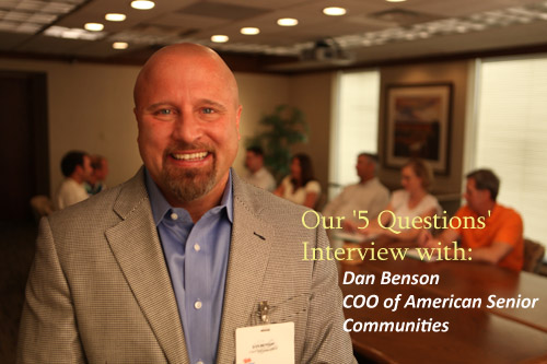 Dan Benson Interview with Assisted Living Directory