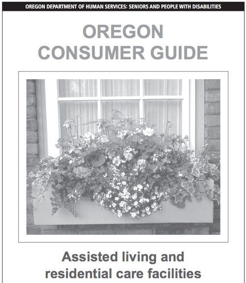 Oregon consumer guide for assisted living