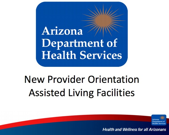 New Provider Orientation for Arizona