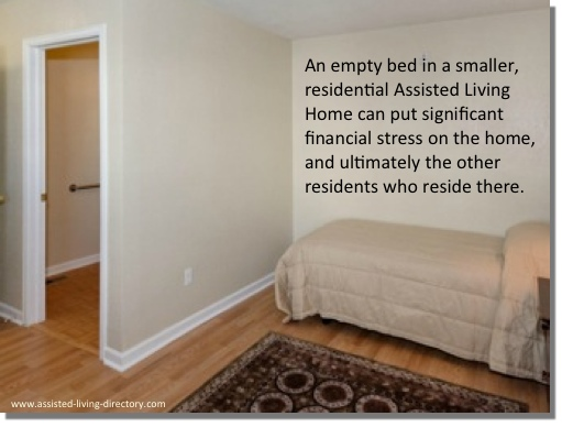 the disadvantages of residential assisted living homes