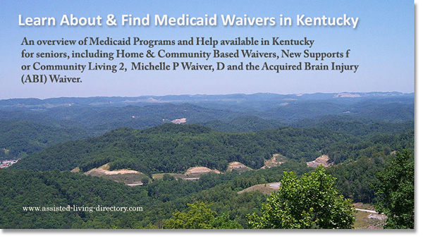 Kentucky Medicaid Waivers overview