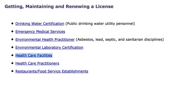 Getting and Maintaining a License