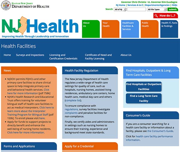 Dept Of Health Home Care Licensure