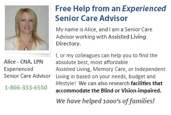 Help for Blind or Vision Impaired